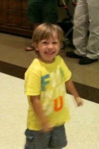 J and preschool May 2012